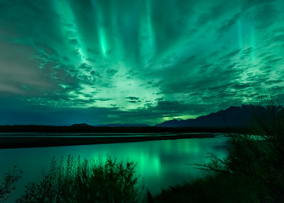 Knik River Lights