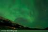 Aurora Borealis (Northern Lights) over Eklutna Lake and the Chugach Mountains<br /> Alaska<br /> January 24, 2012