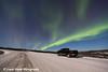 Northern Lights dancing over the James Dalton Highway (Haul Road) north of Fairbanks, Alaska<br /> <br /> November 23, 2012