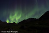 Aurora Borealis (Northern Lights) dancing the Talkeetna Mountains in Archangel Valley, Hatcher Pass, Alaska<br /> <br /> August 24, 2013
