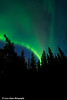 Aurora Borealis (Northern Lights) at South Rolly Lake Campground, Nancy Lake State Recreation Area<br /> October 08, 2011