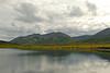 Looking south across the lake toward the Ahklun Mountains.