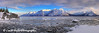 Winter panoramic view of Turnagain Arm and the Chugach Mountains from the Hope Highway.<br /> HDR<br /> March 22, 2012