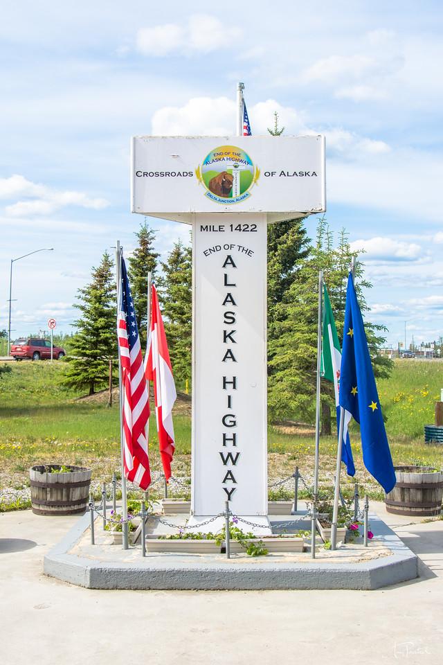 End of Alaska Highway