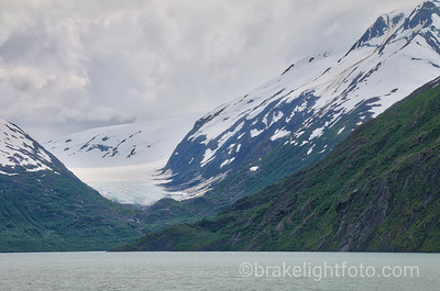 Portage Lake & the Shakespheare Glacier