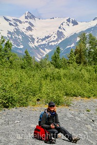 Hiking to Burns Glacier