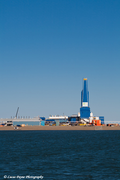 The Liberty Oil Rig in the Prudhoe Bay Oilfield on the North Slope, Arctic Alaska<br /> July 28, 2011