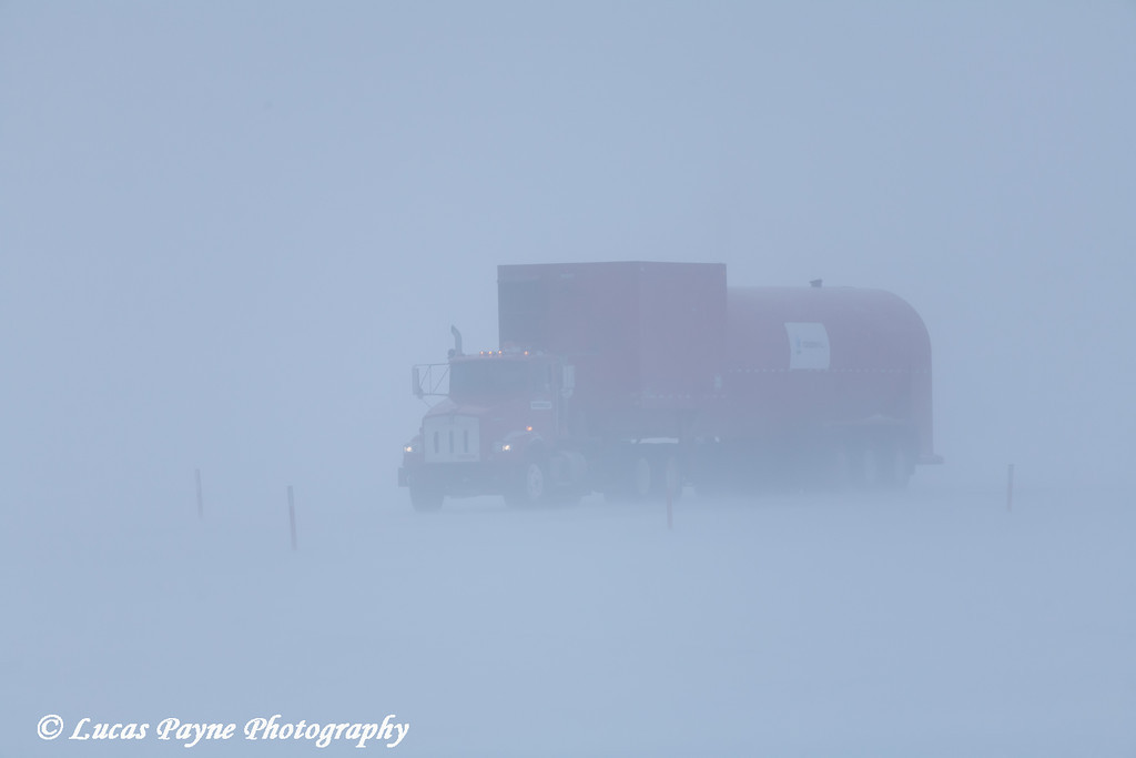 Vac Truck Prudhoe Bay <br /> February 2011