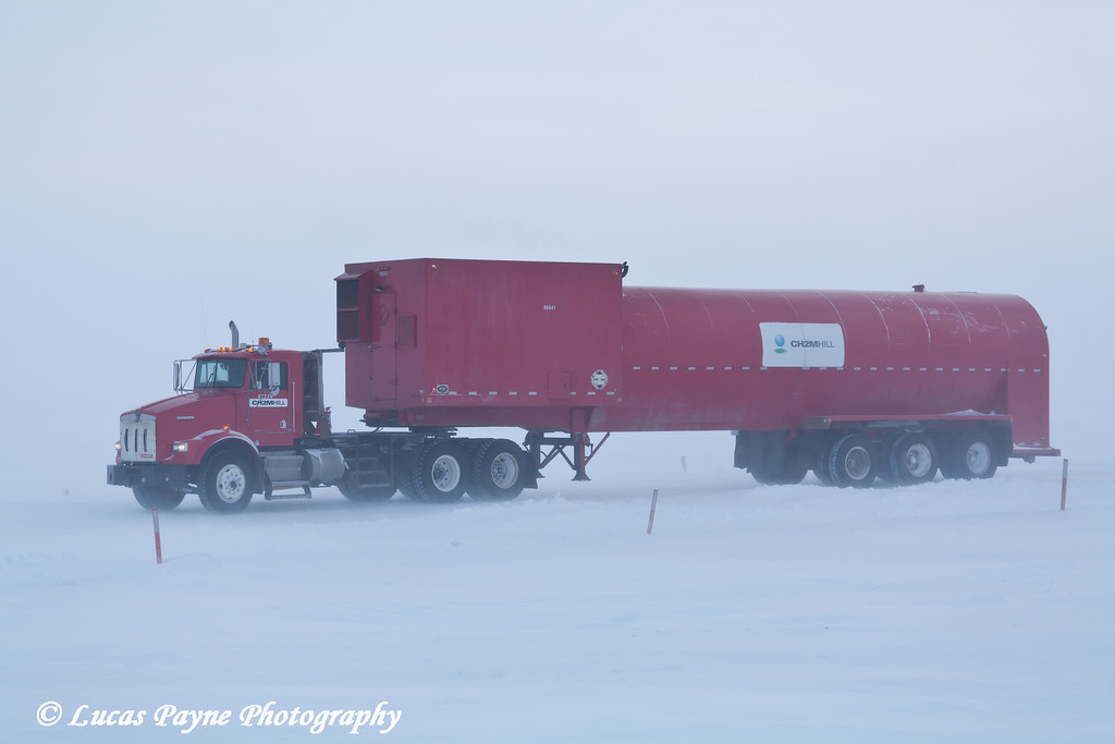 Vac Truck Prudhoe Bay<br /> February 2011