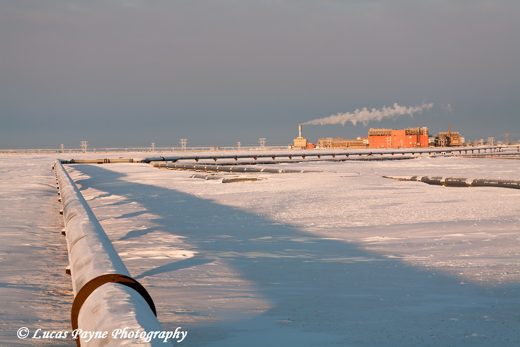 Central Gas Facility (CGF) and Pipeline Prudhoe Bay<br /> February 2011