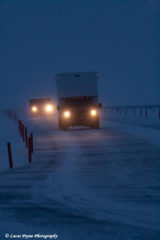 Box Van Prudhoe Bay<br /> February 2011