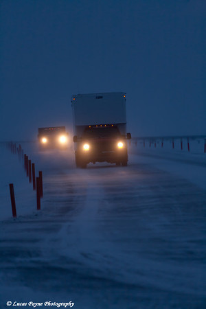 Box Van Prudhoe Bay<br /> February 2011