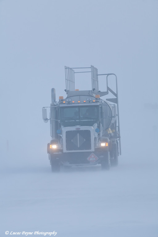 Fuel Truck Prudhoe Bay<br /> February 2011