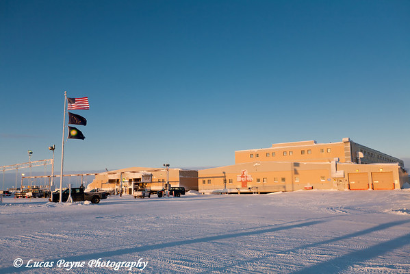 Main Construction Camp (MCC) Prudhoe Bay<br /> February 2011