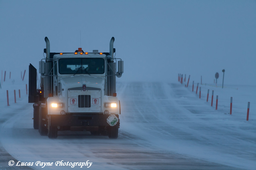 Truck Prudhoe Bay<br /> February 2011