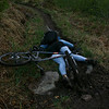 My epic crash moments after it happened. Tara was kind enough to take pictures before helping me up :)