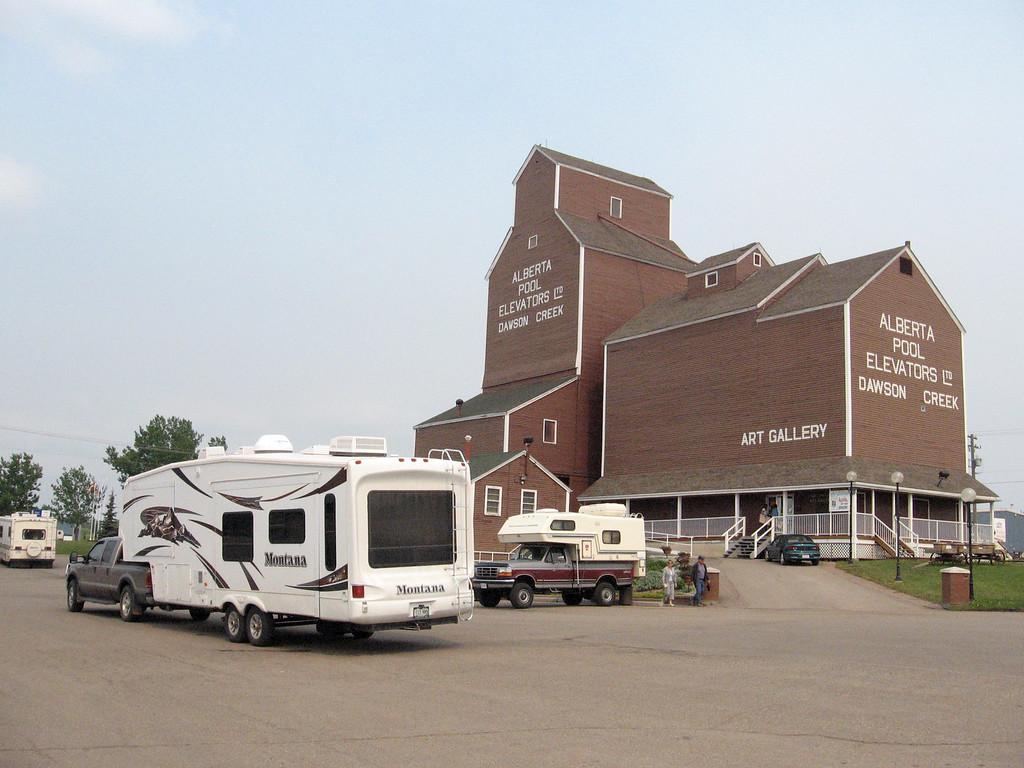 Dawson Creek Visitor Center.