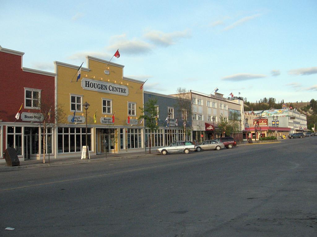 Main Street, Whitehorse.