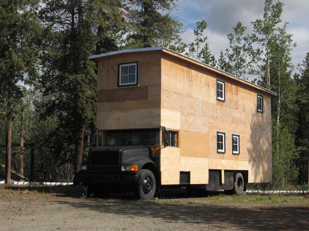 Yukon-sized RV; Watson Lake, YT.