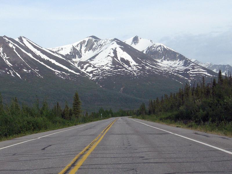 Near the Alaska-Canada border.
