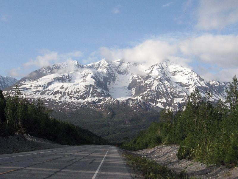 Mt. Billy Mitchell on the Richardson Highway to Valdez, AK.
