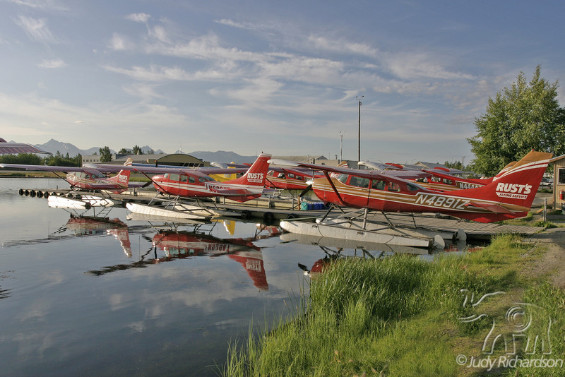 Rust's Flying Service at Hood Lake in Anchorage, Alaska