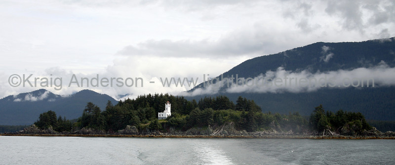 Sentinel Island Lighthouse