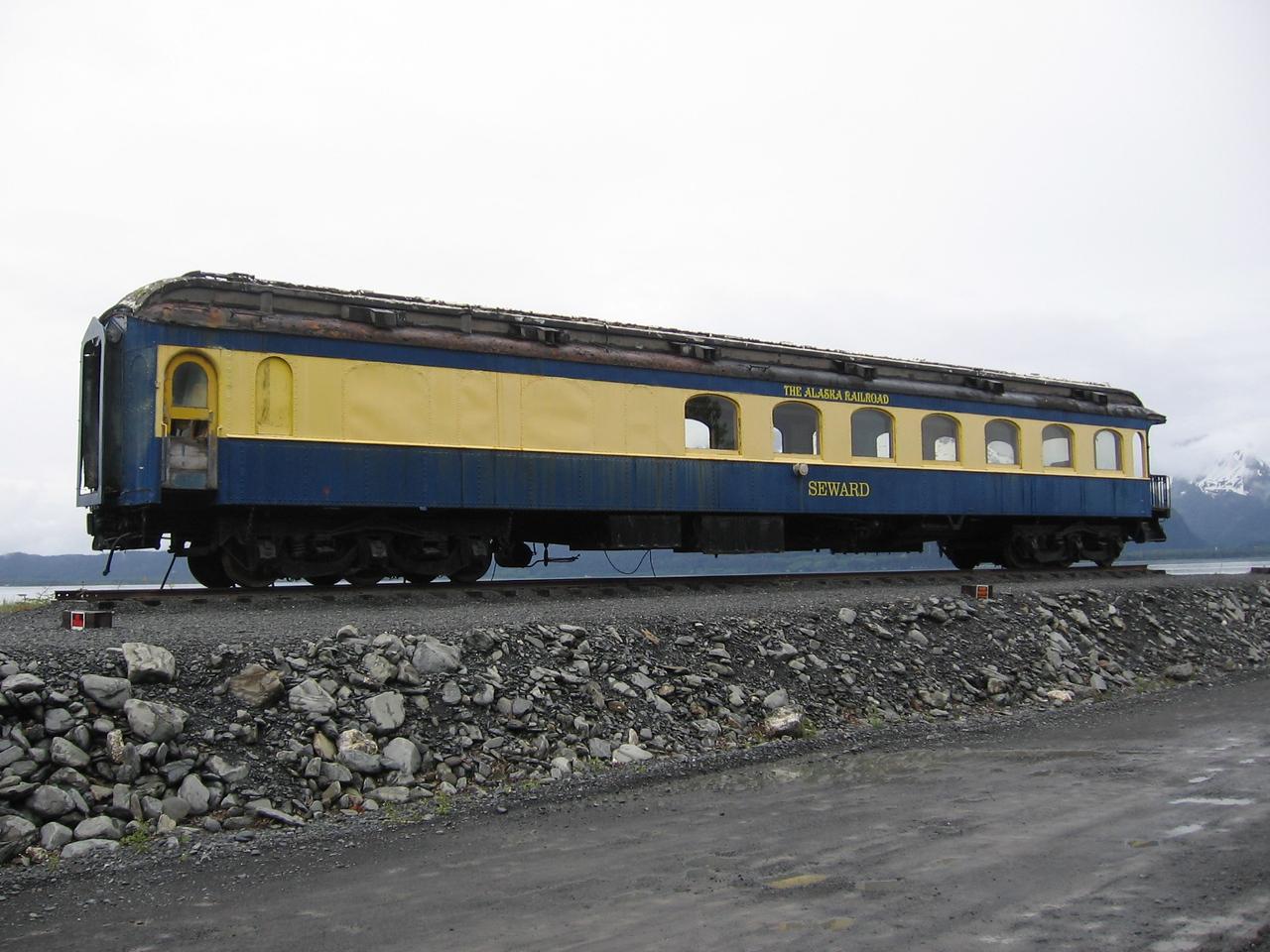 Misplaced Train Car