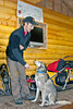 Dog Mushing demonstration at Seavey's in Seward, Alaska.