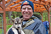 Alan with pup at Seavey's
