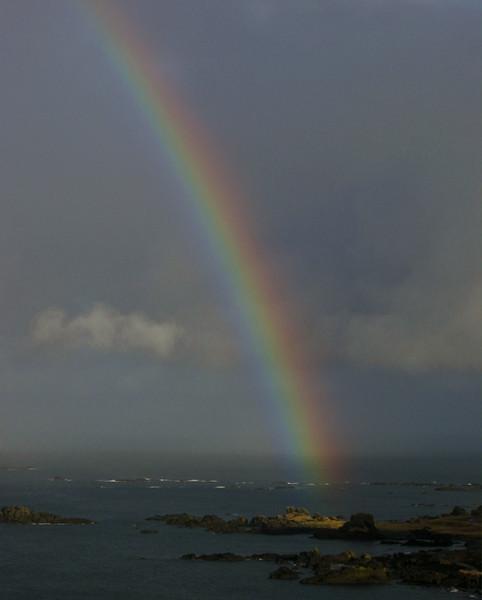 Rainbow Shemya Island, Alaska