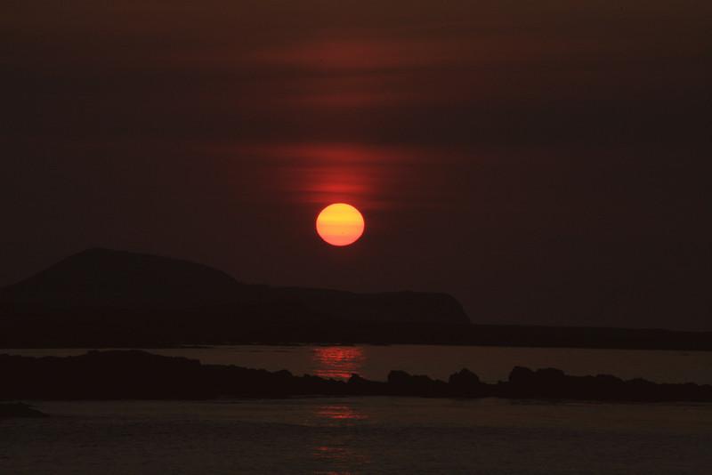 Sunset Shemya Island, Alaska