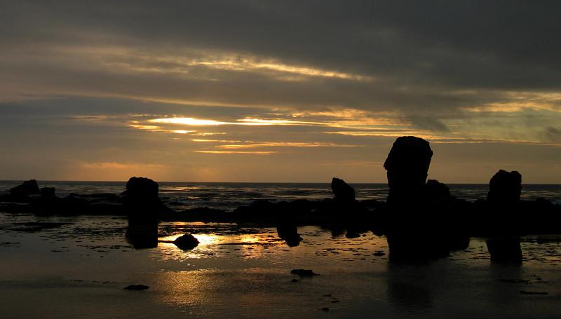 Sunrise from North Beach Road Shemya Island, Alaska