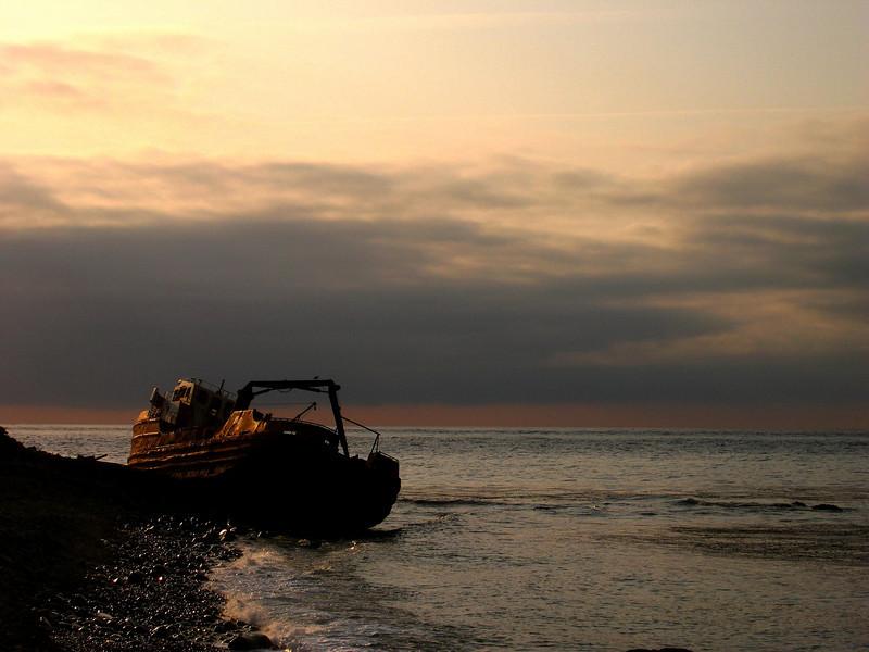 Shipwreck-Shemya Island, Alaska