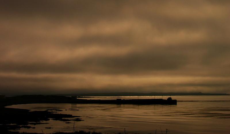Boat Dock Shemya Island, Alaska