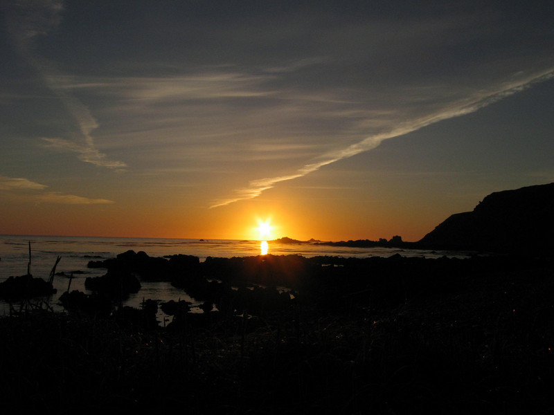 Sunrise Shemya Island, Alaska