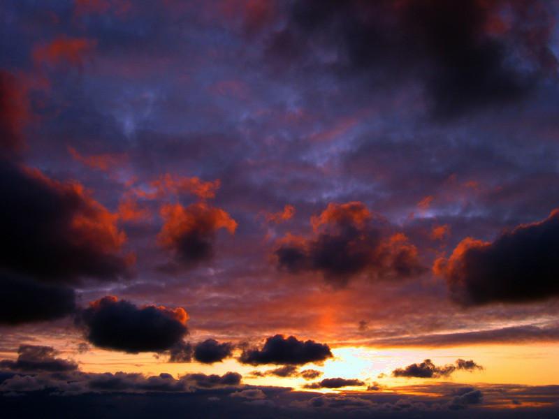 Clouds Shemya Island, Alaska