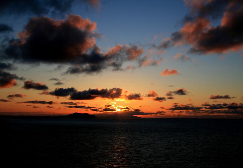 Shemya Sunset