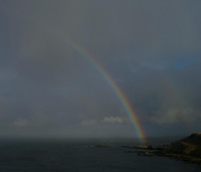 Rainbow over the Bering Sea