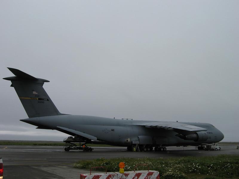 U.S. Air Force C-5 Galaxy Cargo Plane