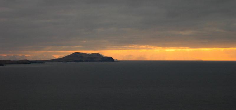 Nizki Island and far in the background is Attu Island again.