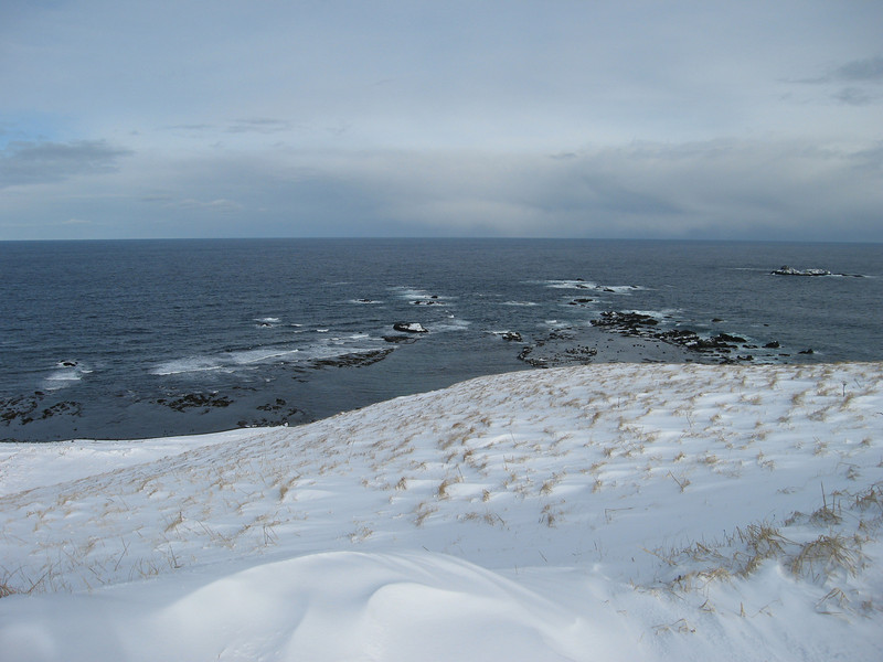 Bering Sea from Shemya Island