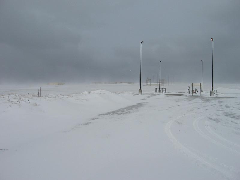 Winter on Shemya