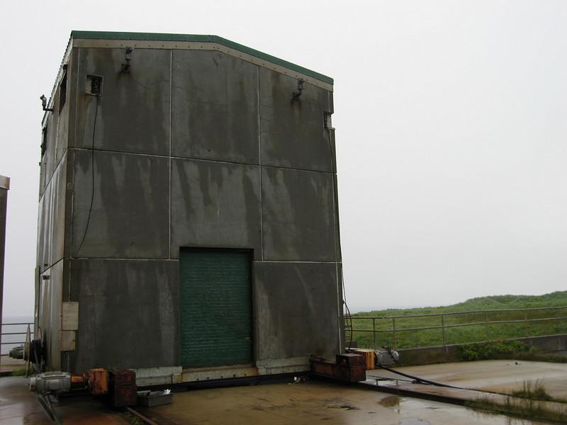 Old missile site.