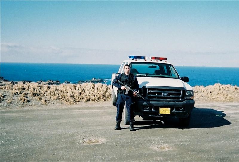 Me at work on Shemya Island, Alaska.