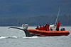 Is that close enough? This whale surfaced very close to a Zodiac in Sitka Sound