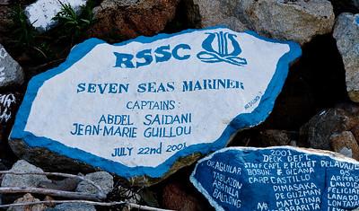 Skagway Ship Signature Wall est. 1928