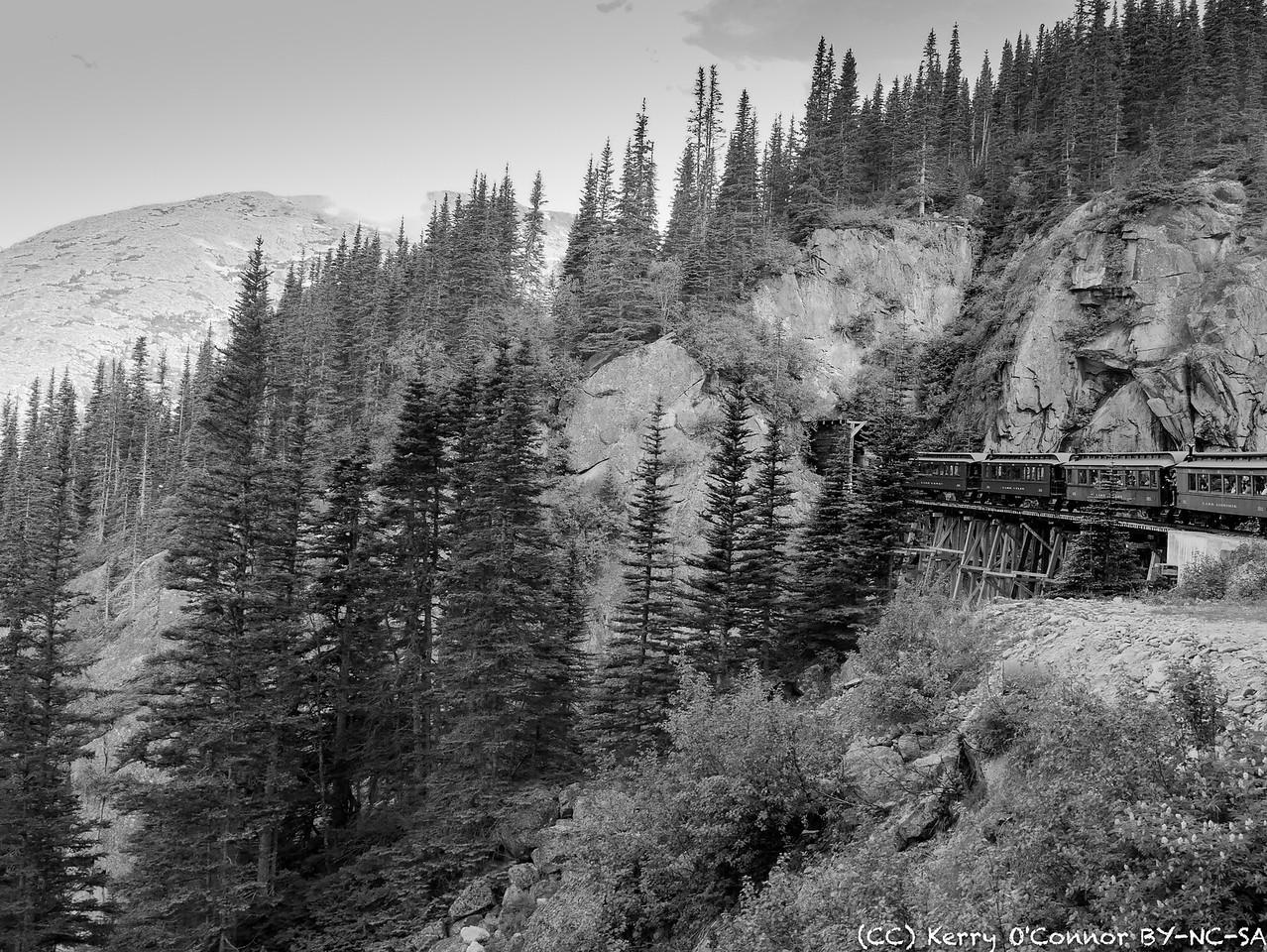 Train tunnel by Slippery Rock