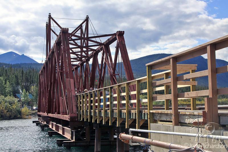 Railroad Bridge in Carcross, Yukon Territory, Canada
