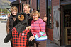 Judy, Dyea Dave, Melanie in Carcross, Yukon Territory